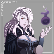 KeiraKvlt Callous Row Character Rose Art by OmegaSlant