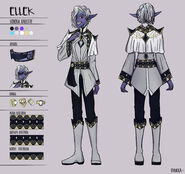 Ellek Myth - Character Designe