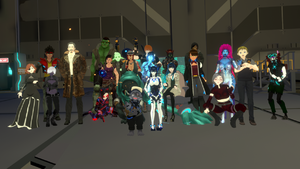 Group shot The Row first episode VRChat 1920x1080 2020-11-28 00-47-53.031 2