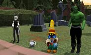 Soras party charles fluffy vee and vinny