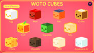 WOTO Cubes product artwork by TyTypes