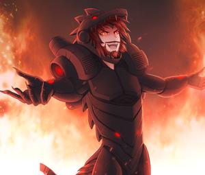 Roflgator as an Anime Boy - Artwork by Meyuu (PB) forrob2