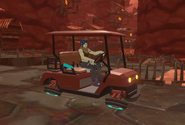 Crag Feb 13th 2021 7 Ront lends out a golfcart to Sten