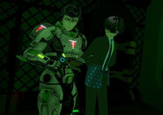 Arcad Feb 22nd 2020 Callous 65 Nirvana Commander of Security (Haven Kendrick) handing over Alfons to ATLANTIS bounty hunter