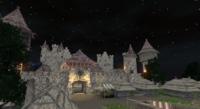 Castle Leydford Night