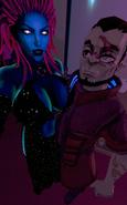 Callous Row - Kee'ra Diamon (Kelli Siren) and Rook (Arcadum)