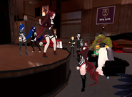 Rofl June 5th 2020 43 Crumpet dancing with background dancer mutes Blu Haze and Firefox Blue