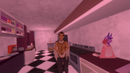 Olivia Callous row episode 23 Levi wanders into the employee area of the cake shop - Lucio tells her to leave