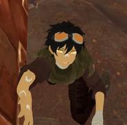 Crag Dec 5th 2020 16 Shiloh Down (HeGone) asks for assistance having broken his legs