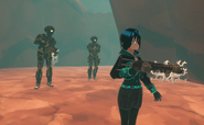 Arcad May 1st 2021 CRS2E20 85 Sonitii Nina Winters (Trap Finder Huubai) and her russian guards