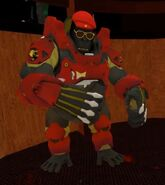 Jor Rilla Roflgator armor