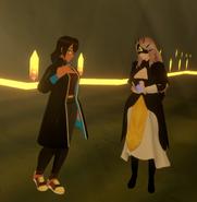 Arcad Jan 8th 2021 18 Priestess (Folkona) and Maia Seren