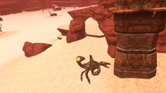 Crag Dec 12th 2020 40 Sten attempts to shoo away a giant scorpion (Willixir)
