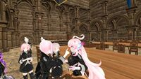 Stealth May 31 2019 13 Vevina boops Cari with Pink Squad