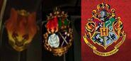 Stealth Season 5 uniform crest change vs Hogwarts