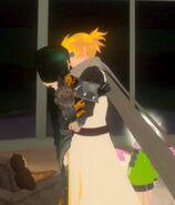 Folkona and SciFri kiss