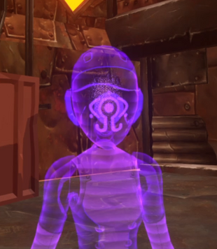 Hologram ghost