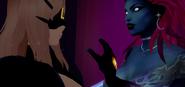 Arcad Jan 8th 2021 23 Priestess (Folkona) and Keera clash magically