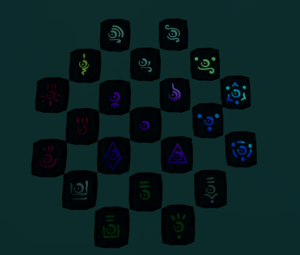 Collored Rune refrence