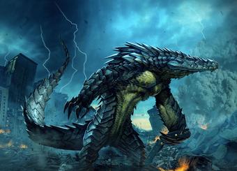 Raiju Vs Battles Wiki Fandom Dark fantasy art, fantasy magic, fantasy artwork, fantasy town, fantasy queen, fantasy castle, fantasy dress, mythical creatures art, weird creatures. raiju vs battles wiki fandom