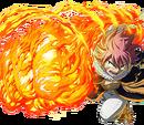 Seven Fire Dragons Natsu