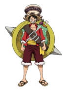 Stampede 2nd Outfit Luffy