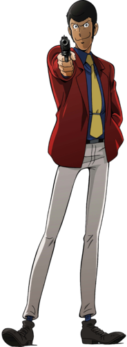 Anomalous N I W D E/Lupin lll (Character).