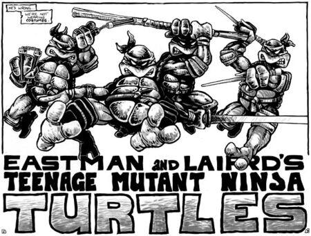 TMNT Tortues Ninja Pages 2-3 comics Mirage4.jpg