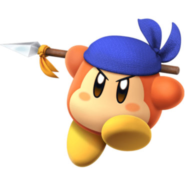 Bandana Waddle Dee-Kirby Fighters 2.png