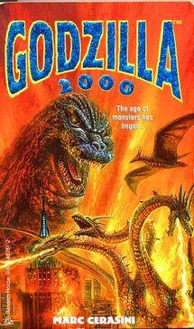 Godzilla 2000 book