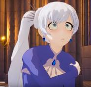 Weiss' kawaii face
