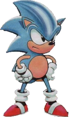 Sonic the Hedgehog (Sonic: The Comic)