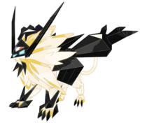 Alternate artwork for solgaleo in pokemon ultra sun and moon