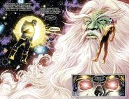Above All Others confronting Thanos with The Astral Regulator