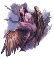 Harpy (Dungeons and Dragons)