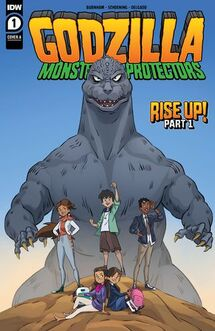 MONSTERS & PROTECTORS Issue 1 CVR A Official