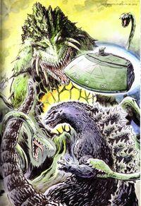 Godzilla vs Biollante Manga