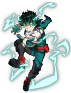 Izuku Midoriya Current Costume