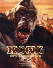 Kong King of Skull Island Hardcover