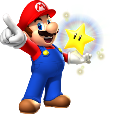 MP9 Mario and Glowing Star Artwork.png
