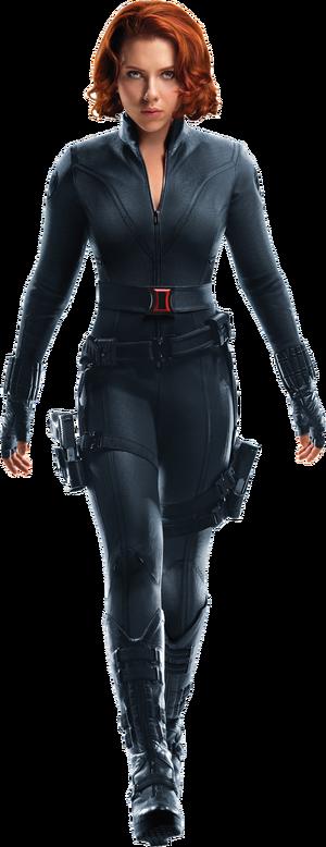 Black widow avengers transparent by davidbksandrade-da1txd0.png