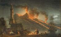 Mount Vesubius eruption