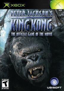 PETER JACKSON'S KING KONG XBOX Cover