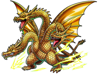 King Ghidorah (Monster Strike)