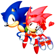 Sonic and Amy CD