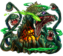 Biollante (Monster Strike)