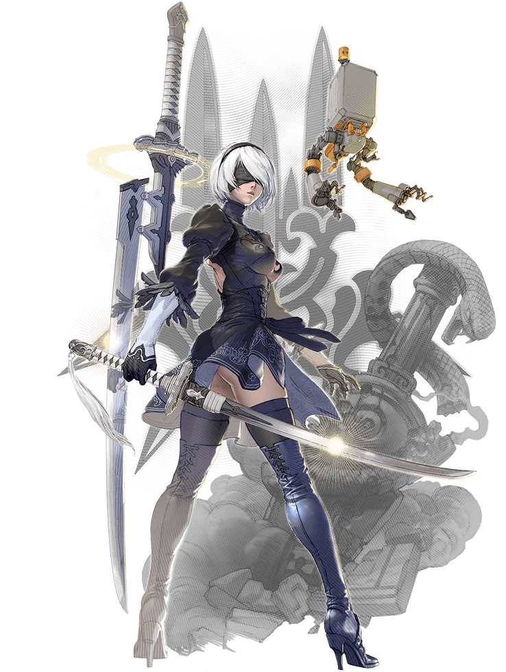 2B (Soul Calibur)