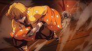 Demon Slayer Sleeping Zenitsu Attack