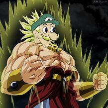 Weegee legendary super saiyan