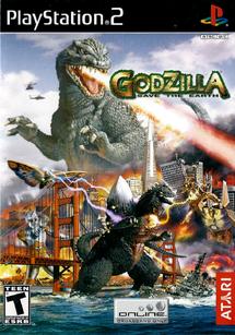 Godzilla Save the Earth PS2 cover LQ